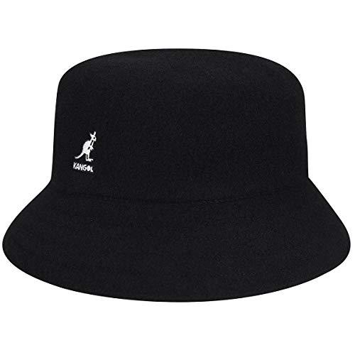 Kangol Headwear Kangol Unisex Wool LAHINCH Fischerhut, Schwarz (Black BK001), 60