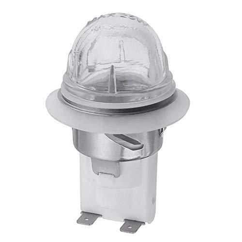 Chirsemey 110V / 220V Lampensockel Hochtemperaturbeständige Ersatzlampen Sicherer Ofenlampenhalter Lampenfassung Für Mikrowellen-Kühlschränke E14 Halogenlampen