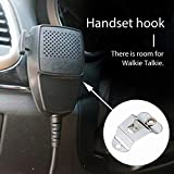 Microphone Hang Up Clip for Mobile Two-Way Radios