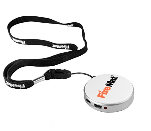 FireMat FireMat® USB Elektronisches Winddichte Feuerzeug Portable Taschenlampe Zigarettenanzünder (Weiss) Weiß