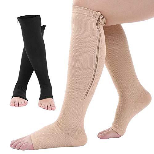 Casiz Dr Sock Soothers, Plantarfasziitis Socken für Männer und Frauen, tolle Fußpflege, Kompressions-Fußmanschetten mit Fußgewölbe- und Knöchelstütze