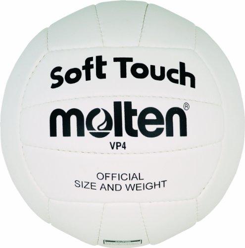 Molten Volleyball VP4, Weiß , 4