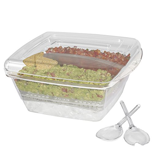 Creative Bath Cool-6 6 Piece Coolware Server Set, 1, Clear