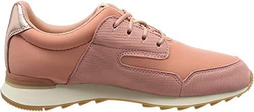 Clarks Damen Floura Mix Sneaker, Pink (Pink Combi), 39 EU
