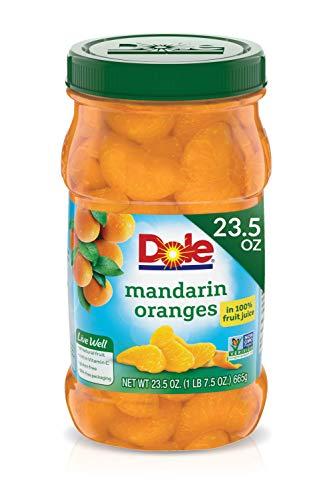Dole Mandarin Oranges in 100% Fruit Juice, 23.5 Oz Resealable Jar