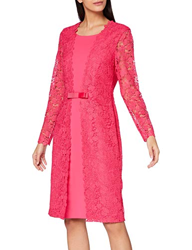 Gina Bacconi Women's Summer Lace and Crepe Dress Vestido para Madre de...