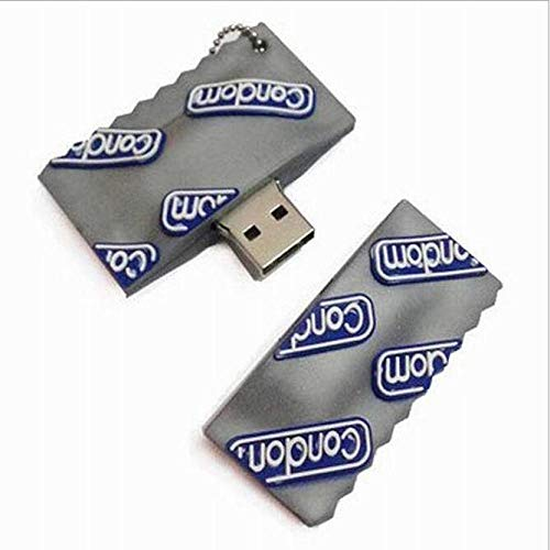 USB Memory Stick, Pen Drive Model Condom Style USB Flash Drive condoom U Disk 32Gusb 2.0 Memory Stick hanger grappig