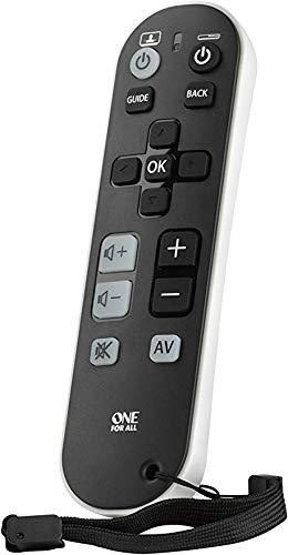 Telecomando TV Big Button universale avanzato Dexterity Television Remote per disabilità disabili anziani demenza Alzheimers