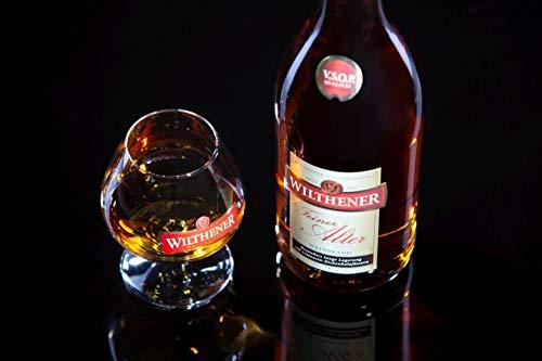 Wilthener Feiner Alter Weinbrand 36% vol., Brandy in V.S.O.P.-Qualität, in Limousin-Eichenholzfässern gelagert (1 x 0.7 l) - 2