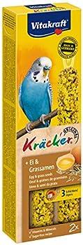 Kräcker Œuf Graines de Graminées Perruches P/2