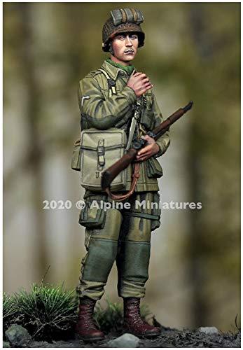 アルパインミニチュア 1/35 第二次世界大戦 アメリカ軍 第101空挺師団 兵士2 レジンキット AM35276