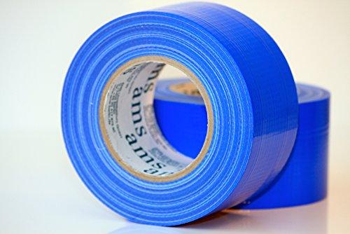 Profi Gewebeklebeband super 72 x 50 m Blau, Mehr Klebkraft geht nicht!