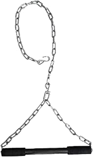 "Hanging Rod Pull Up Bar with Long Heavy Chain with Chrome Plated Rod Chin up Bar for Height Increaser 4"" INCH"
