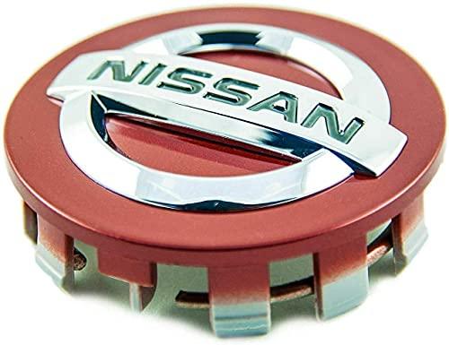 El Centro de Rueda de Coche Cubierta de la Etiqueta engomada Casquillos de Eje tapacubos Emblema de la Insignia Covers Adhesivos para Nissan Juke Note Micra Qashqai,56mm