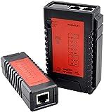 wsbdking NF-468 Ethernet LAN Cable de Red Probador RJ45 PoE RJ11 Teléfono Teléfono Teléfono Tracker Diagnóstico Tono Tracer Tester
