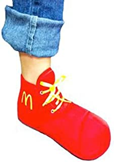 Ronald McDonald Child Shoes Costume Accessory Red