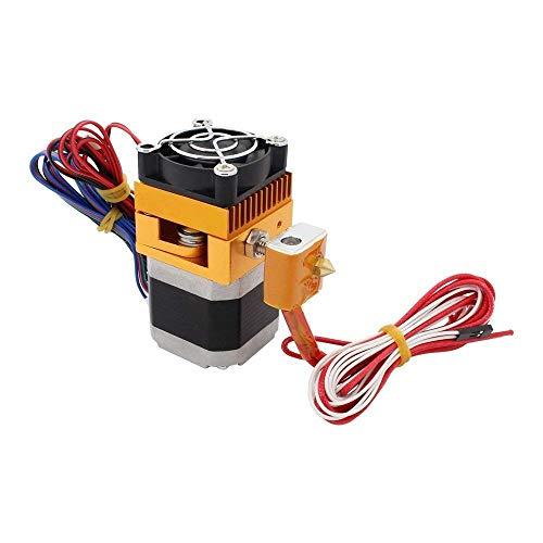 Redrex - Extrusora MK8 montada con boquilla de impresión Hotend para impresora en 3D MakerBot Prusa i3 Reprap