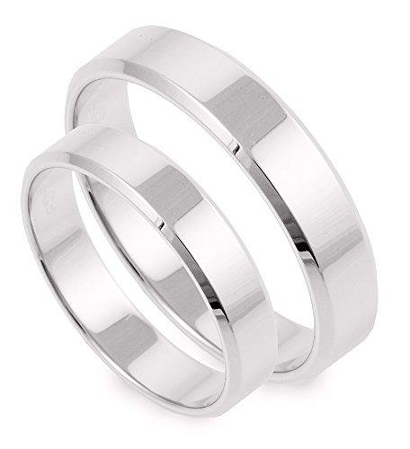Ringe-der-Welt Fedi nuziali oro Bianco S100_WF4
