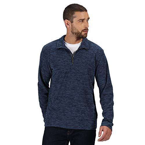Regatta Elgor II Sweatshirt, Navy Marl, 3X-Large Mens