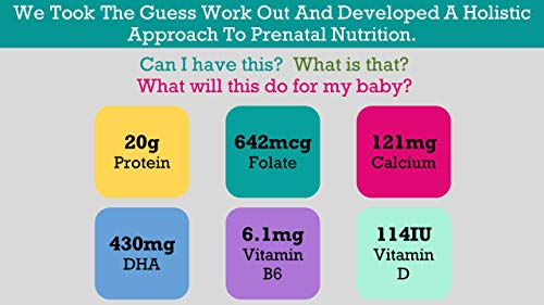 Baby Booster Prenatal Vitamin Supplement Shake Bag, Tahitian Vanilla, 1 Pound (Pack of 1) , 16 Ounce