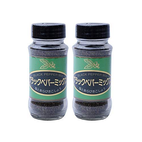 【 コーワ産業 】 ブラックペッパー ミックス 瓶 120g ×2本