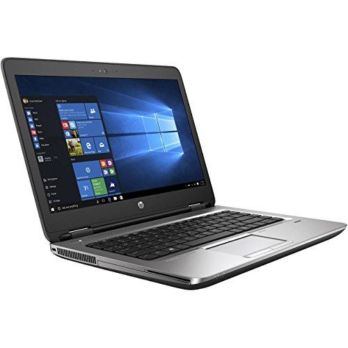 HP ProBook 640 G2 Laptop, 14' HD Display, Intel Core i5-6300U Upto 3.0GHz, 16GB RAM, 256GB NVMe SSD,, DisplayPort, Wi-Fi, Bluetooth, Windows 10 Pro (Renewed)