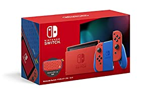【マリオ35周年キャンペーン対象】Nintendo Switch マリオレッド×ブルー セット