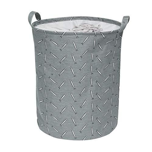 LIANDU - Bolsa para la colada, plegable, con cierre de cordón, para dormitorio, con asas de 35 x 45 cm