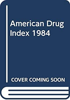 Hardcover American Drug Index 1984 Book