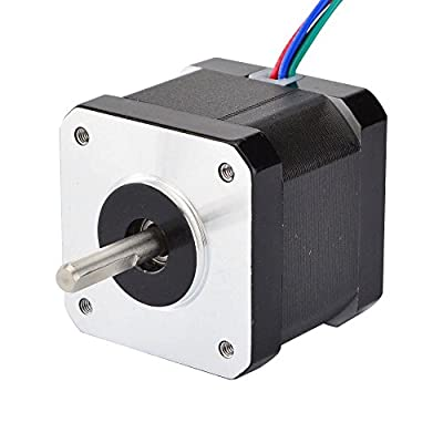 STEPPERONLINE 0.9deg Nema 17 Stepper Motor 36Ncm 0.9A 42x42x40mm 4-lead for DIY 3D Printer CNC