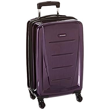 Samsonite Winfield 2 Hardside 20  Luggage, Purple