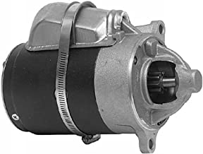New Discount Starter and Alternator Replacement Starter for Crusader, Ford, Mercruiser, Pleasurecraft, Volvo Penta, and Waukesha, Fits Many Models, Please See Below