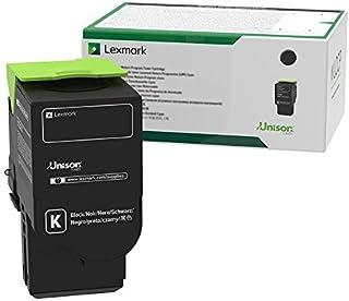 Lexmark C241XK0 Black Extra High Yield Return Program Cartridge Toner, Grey