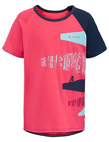 VAUDE Kinder T-shirt Kids Moab T-Shirt, bright pink, 134/140, 41886