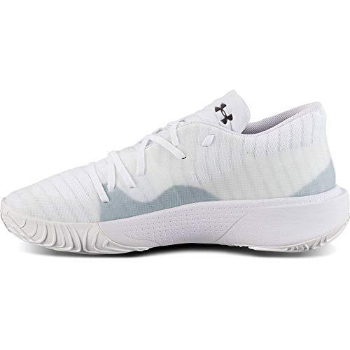 Under Armour Herren UA Anatomix Spawn Low Basketball Schuhe, Zapatillas de básquetbol Hombre, Blanco, 47 EU