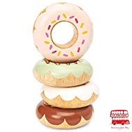 Le Toy Van Doughnut Set Premium Wooden Toys for Kids Ages 2 Years & Up