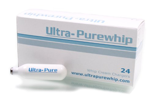 Creamright Ultra-Purewhip 24-Pack N2O Whipped Cream Chargers
