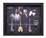 RGM9051 Angus Young ACDC Colección de guitarra en miniatura en marco Shadowbox …
