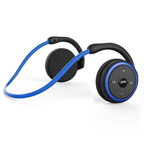 Bluetooth Wireless Running Headphones, Zero Pressure Design Earphone with...