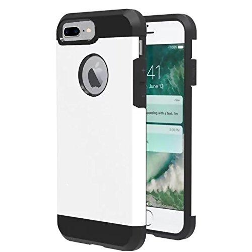 iPhone 8 plus Case,iBarbe Slim Extreme Heavy Duty Rugged Hybrid Impact 2...
