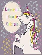 Unicornio Libro de Colorear: Dibujos para colorear divertido para los adolescentes, niños y niñas, con diseños Unicornios (Spanish Edition)