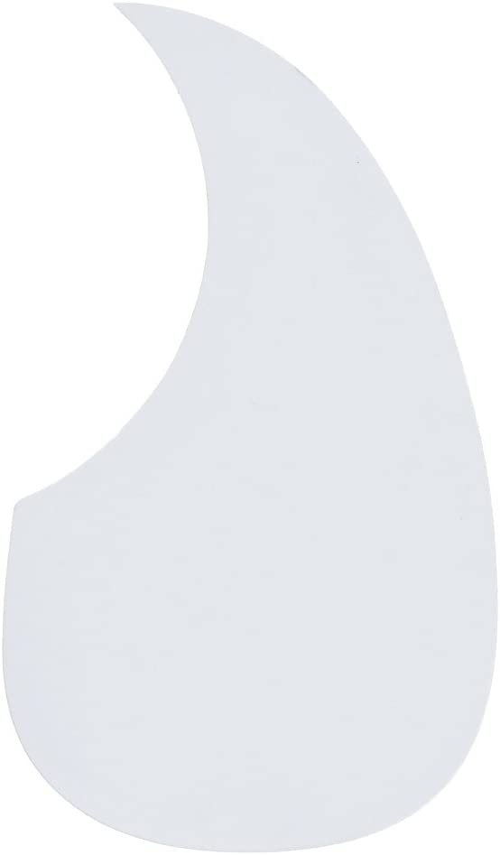 1pc White Comma Shaped Acoustic Soft Adhesive Pickguard Dealing full price New color reduction Guitar
