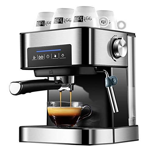 Professionele koffiemachine, draagbaar koffiezetapparaat, 1,5 liter grote capaciteit, eenvoudig te gebruiken en schoon te maken