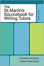 The St Mart Sourcebook Writ Tutor 4e [ST MART SOURCEBK WRIT TUTOR 4E] [Paperback]