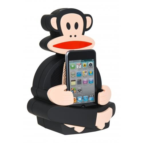 Paul Frank Julius Dance Machine Speaker Dock - Compatible with iPod / iPhone 3G 3GS 4 4S