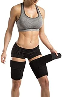 SNAPSHOPECOM Sweat Thigh Trimmer Belt Protective Wear Gym Yoga Fitness/Thigh Trimmer Belt Sweet Sweat Neoprene Trim Slimmi...