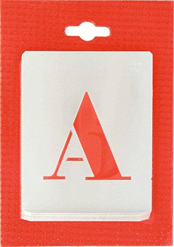Alphabet en Alu ajouré - Hauteur 60 mm 550900