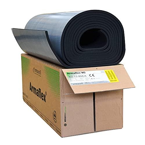 Armaflex® Armacell - Placas de caucho autoadhesivas (grosor de aislamiento 13 mm, 1000 x 8000 mm = 8 m²)