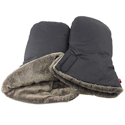 WDFVGEE - Guantes para cochecito de bebé para bebé, impermeables, para calentar las manos en invierno para calentarte