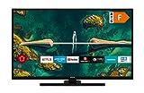 HITACHI Televisor H32E2200 de 32 pulgadas (HD-Ready, Smart TV, HDR10, Prime Video/Netflix/YouTube, funciona con Alexa, Bluetooth, sintonizador triple, HD+)
